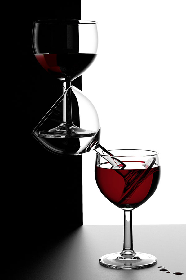"Wine Glasses ""Balance"" - by Massimo"