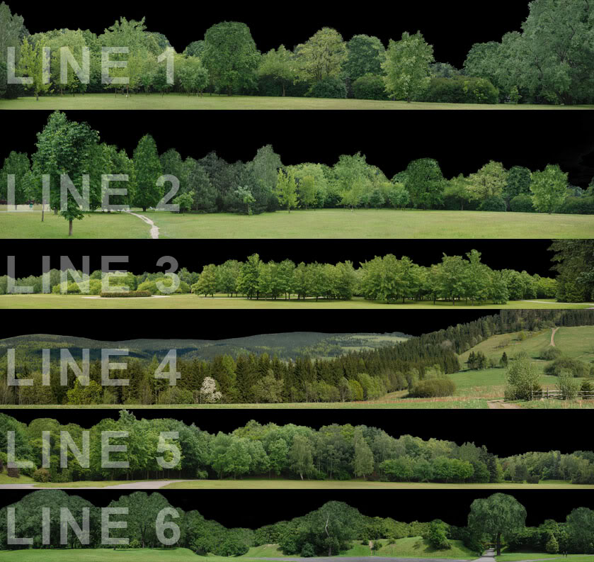 Useful Tree Line Backgrounds - Twilight Render User Forum